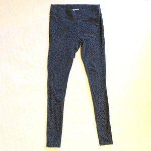 Columbia gray & black leggings/ s